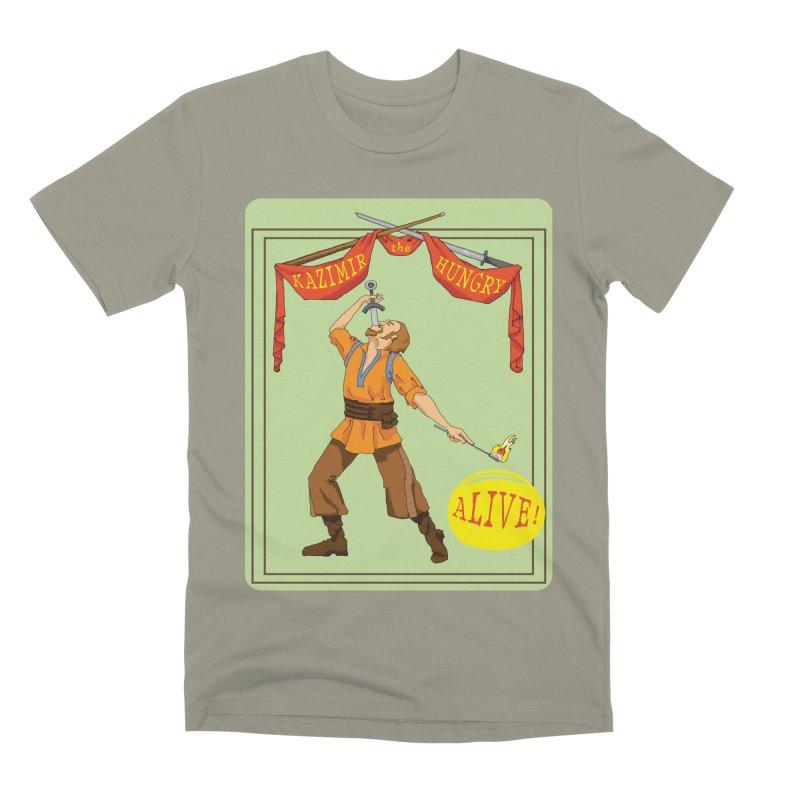 Sideshow Banner Men's Premium T-Shirt by Kazimir the Hungry Merchandise