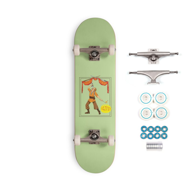 Sideshow Banner Accessories Complete - Basic Skateboard by Kazimir the Hungry Merchandise