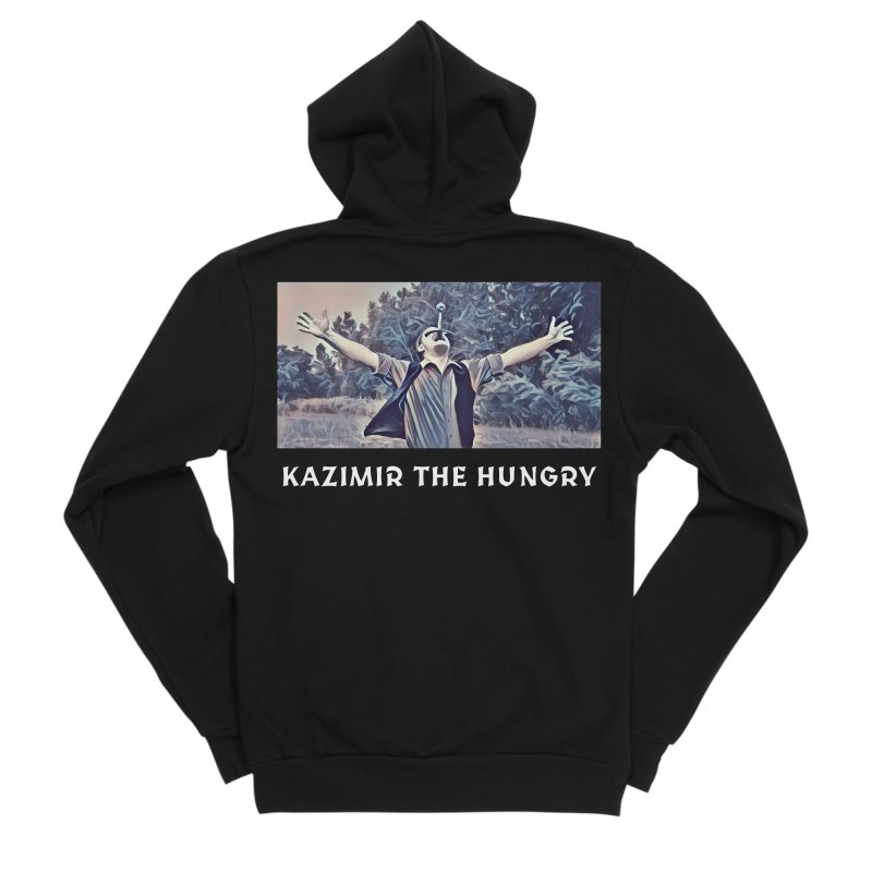 Triumph Dark Men's Sponge Fleece Zip-Up Hoody by Kazimir the Hungry Merchandise