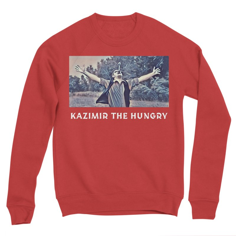 Triumph Dark Men's Sponge Fleece Sweatshirt by Kazimir the Hungry Merchandise