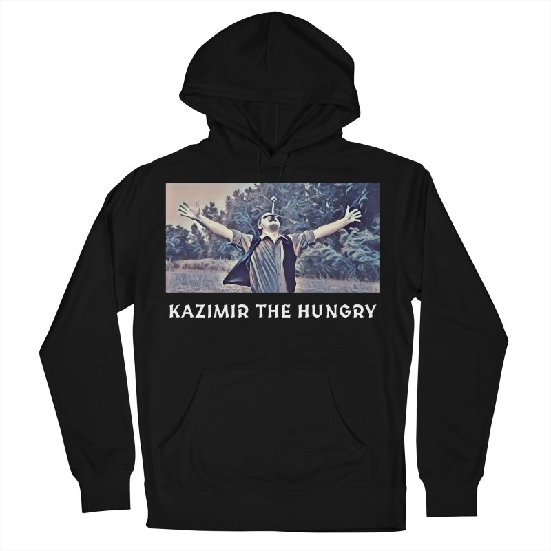 Triumph Dark Men's French Terry Pullover Hoody by Kazimir the Hungry Merchandise