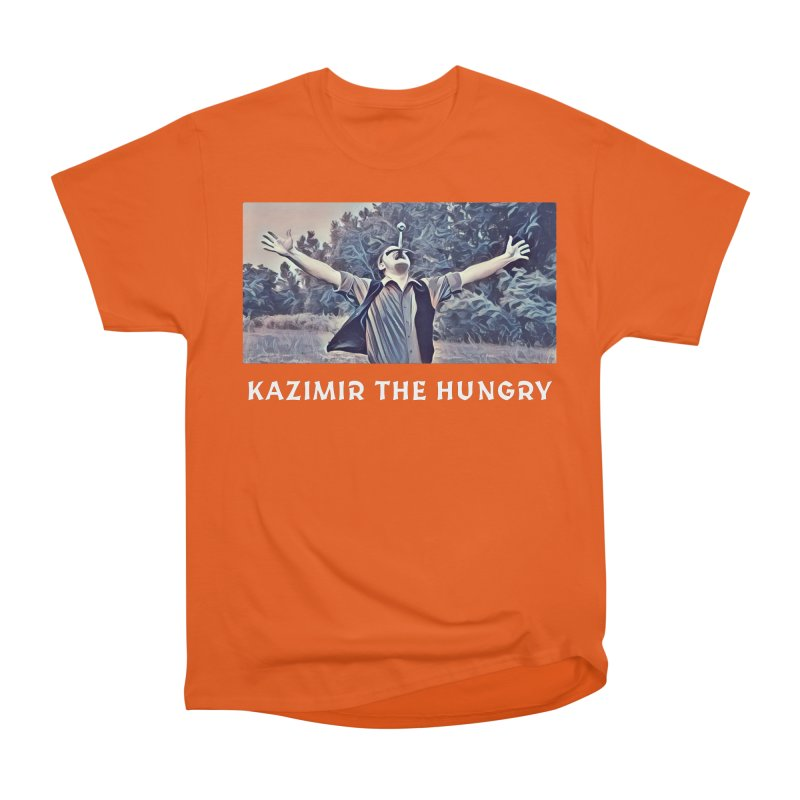 Triumph Dark Women's Heavyweight Unisex T-Shirt by Kazimir the Hungry Merchandise