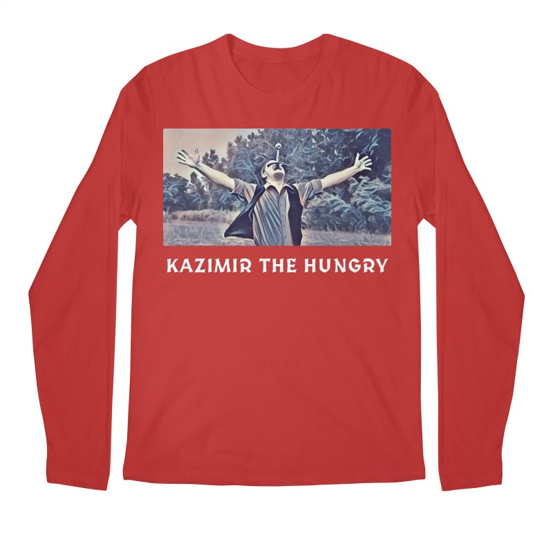 Triumph Dark Men's Regular Longsleeve T-Shirt by Kazimir the Hungry Merchandise