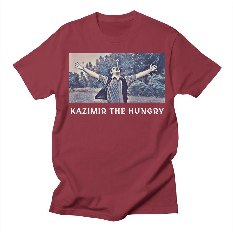 Triumph Dark Men's Regular T-Shirt by Kazimir the Hungry Merchandise