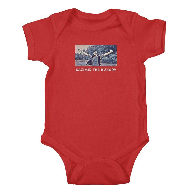 Triumph Dark Kids Baby Bodysuit by Kazimir the Hungry Merchandise