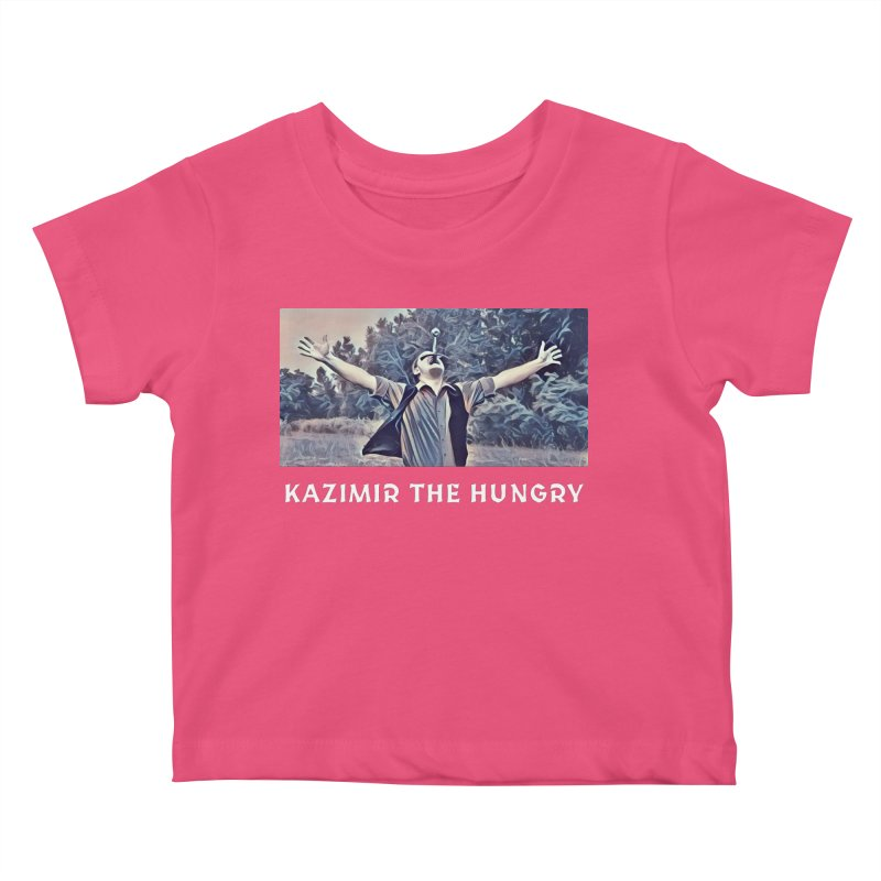 Triumph Dark Kids Baby T-Shirt by Kazimir the Hungry Merchandise