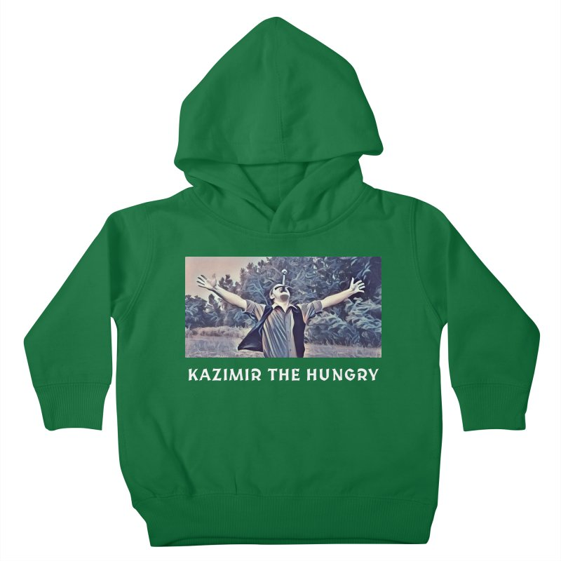 Triumph Dark Kids Toddler Pullover Hoody by Kazimir the Hungry Merchandise