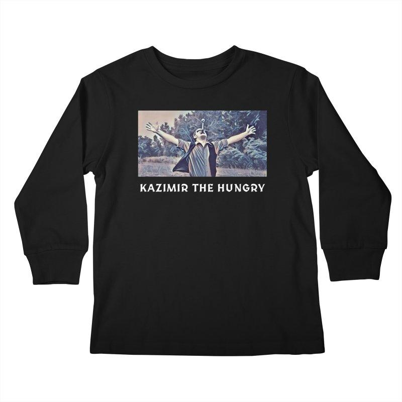 Triumph Dark Kids Longsleeve T-Shirt by Kazimir the Hungry Merchandise