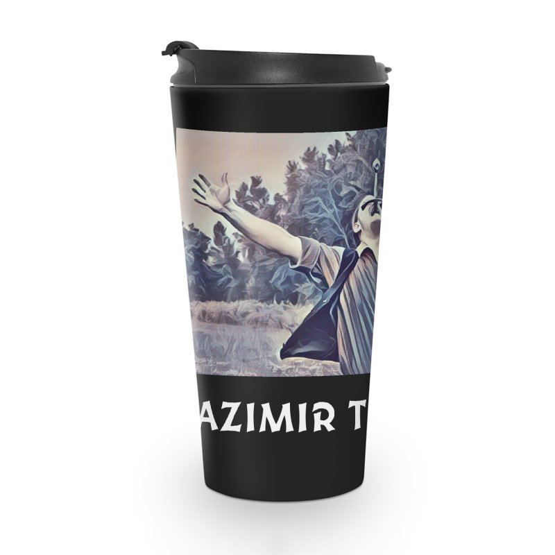 Triumph Dark Accessories Travel Mug by Kazimir the Hungry Merchandise