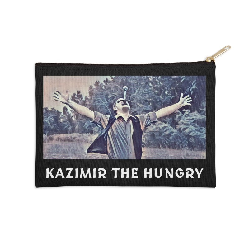 Triumph Dark Accessories Zip Pouch by Kazimir the Hungry Merchandise
