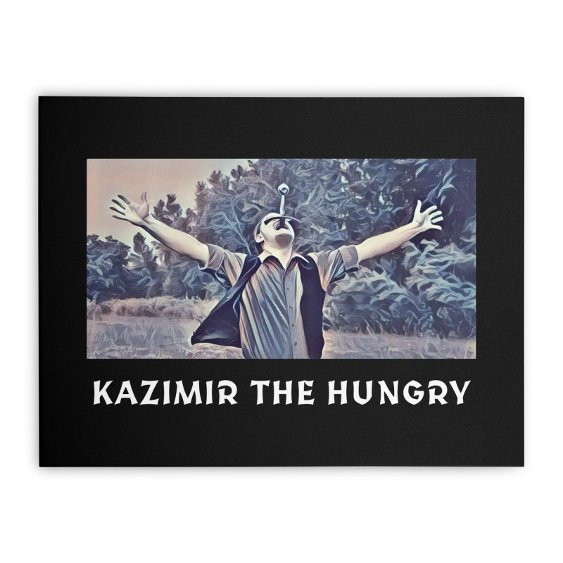 Triumph Dark Home Stretched Canvas by Kazimir the Hungry Merchandise