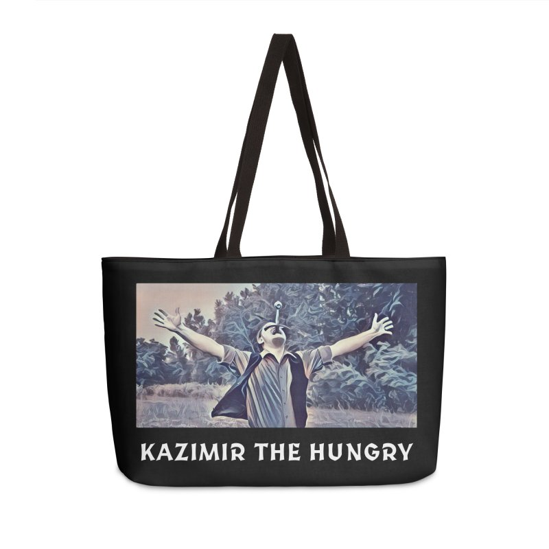 Triumph Dark Accessories Weekender Bag Bag by Kazimir the Hungry Merchandise