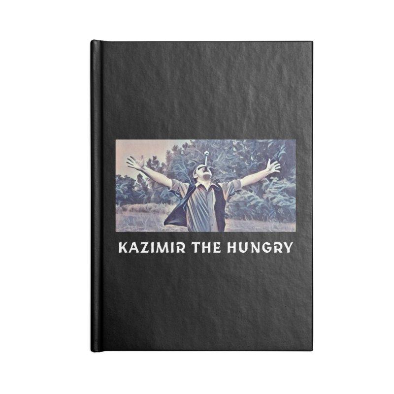Triumph Dark Accessories Blank Journal Notebook by Kazimir the Hungry Merchandise