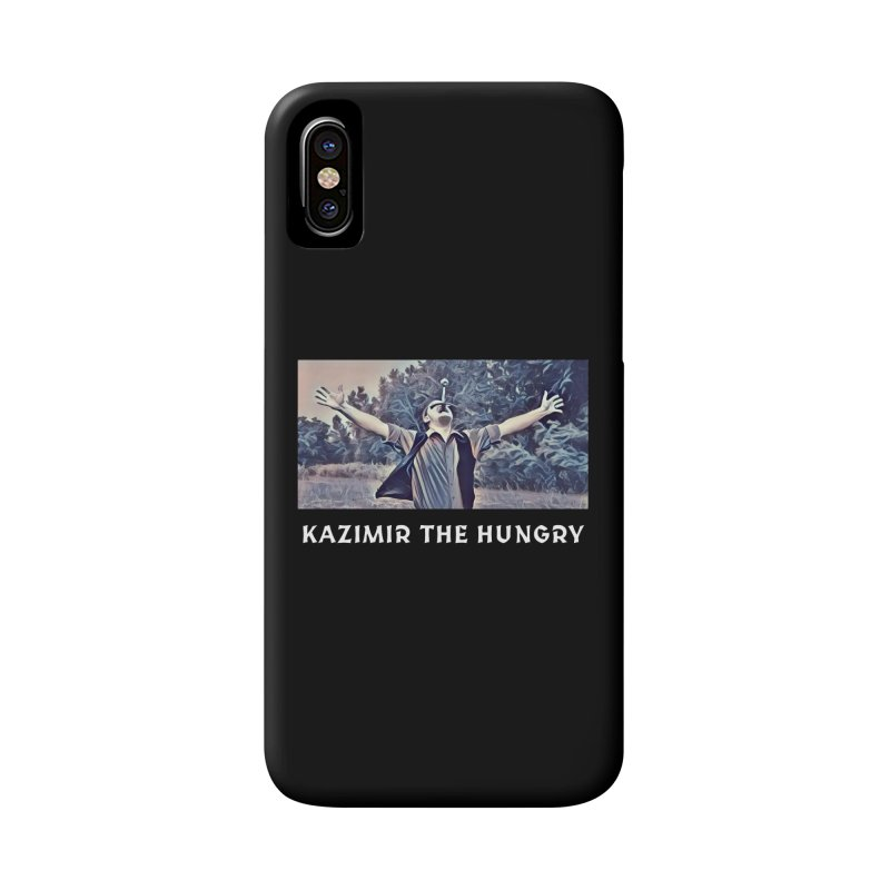 Triumph Dark Accessories Phone Case by Kazimir the Hungry Merchandise