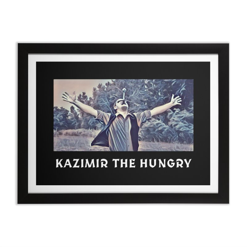 Triumph Dark Home Framed Fine Art Print by Kazimir the Hungry Merchandise