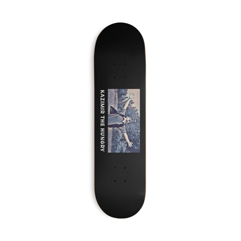 Triumph Dark Accessories Deck Only Skateboard by Kazimir the Hungry Merchandise