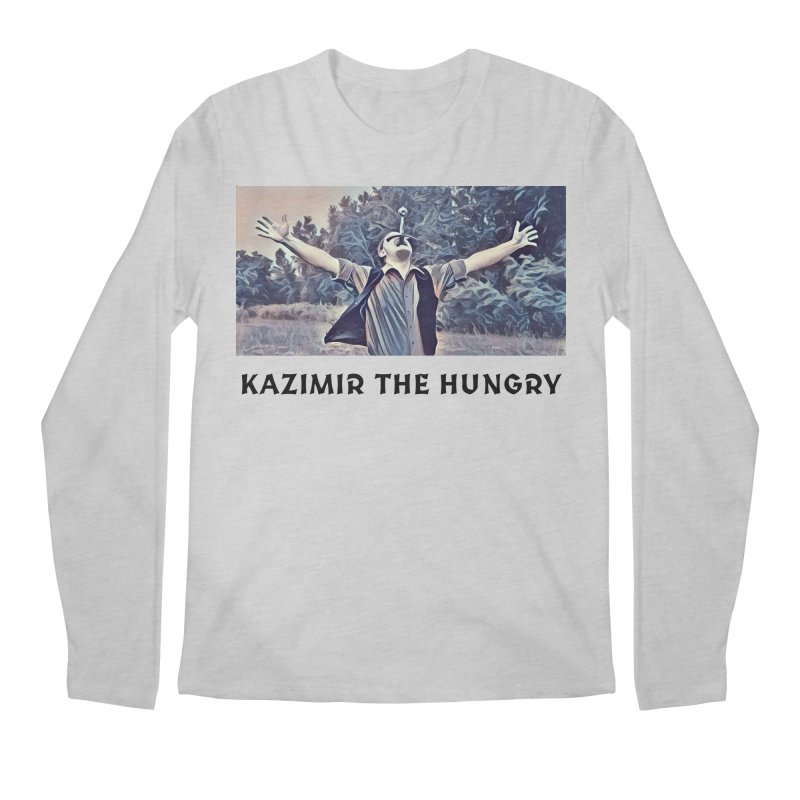 Triumph White Men's Regular Longsleeve T-Shirt by Kazimir the Hungry Merchandise