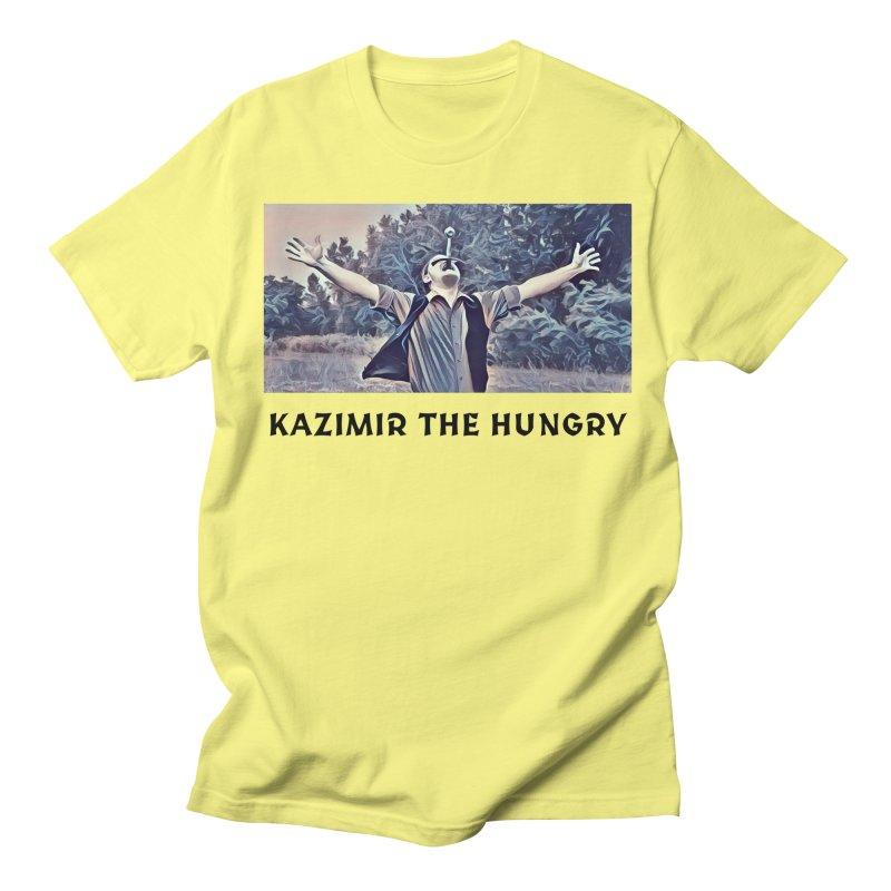 Triumph White Women's Regular Unisex T-Shirt by Kazimir the Hungry Merchandise