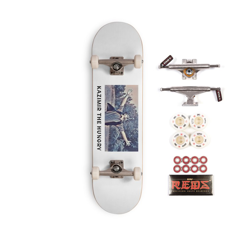 Triumph White Accessories Complete - Pro Skateboard by Kazimir the Hungry Merchandise