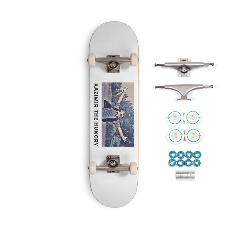 Triumph White Accessories Complete - Basic Skateboard by Kazimir the Hungry Merchandise