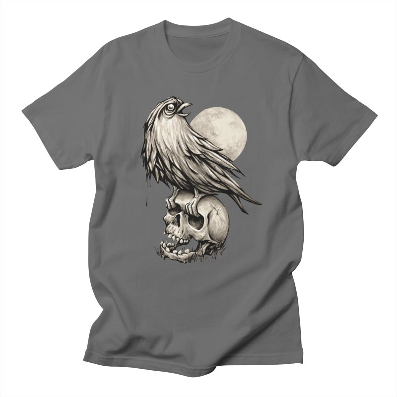 Zombie Bird Men's Regular T-Shirt by kcarterart's Artist Shop