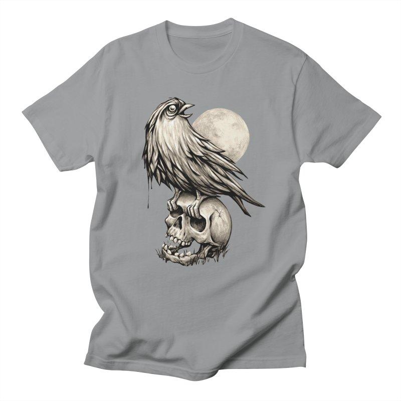 Zombie Bird Men's Regular T-Shirt by kcarterart's Artist Shop