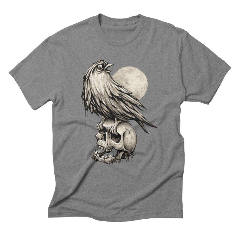 Zombie Bird Men's Triblend T-shirt by kcarterart's Artist Shop
