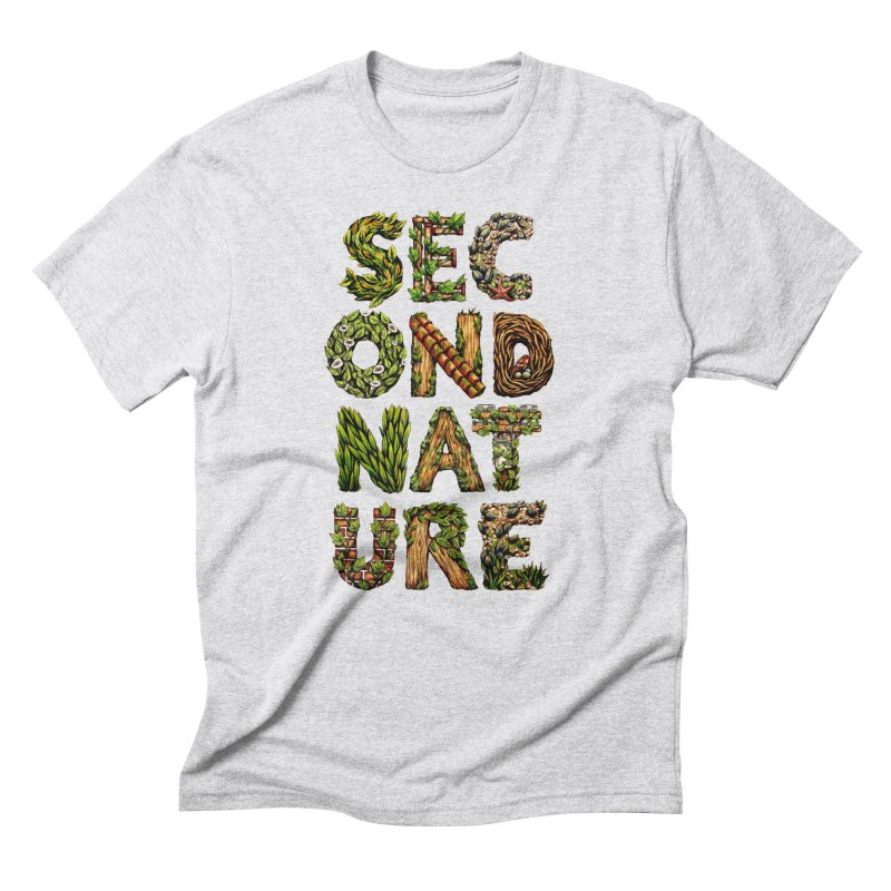 Second Nature Men's T-Shirt by kcarterart's Artist Shop