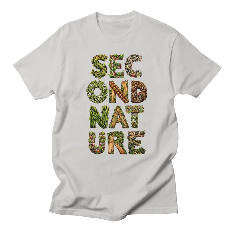 Second Nature Men's Regular T-Shirt by kcarterart's Artist Shop