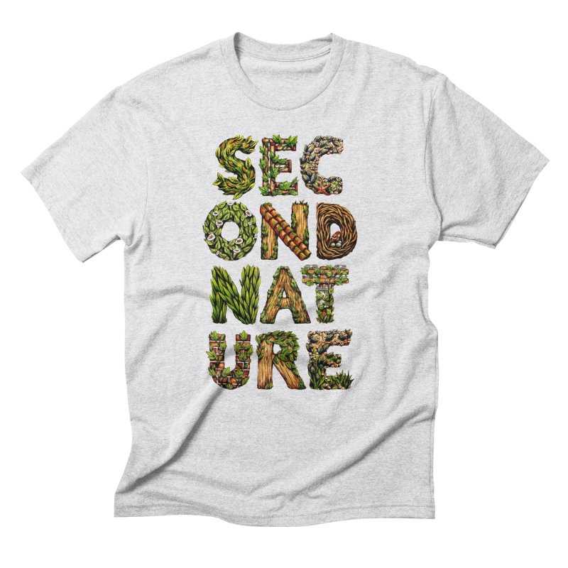 Second Nature Men's Triblend T-Shirt by kcarterart's Artist Shop