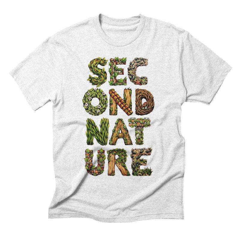 Second Nature Men's Triblend T-shirt by kcarterart's Artist Shop