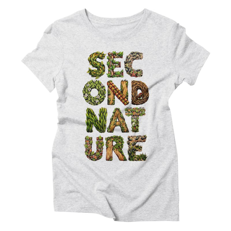 Second Nature Women's Triblend T-Shirt by kcarterart's Artist Shop