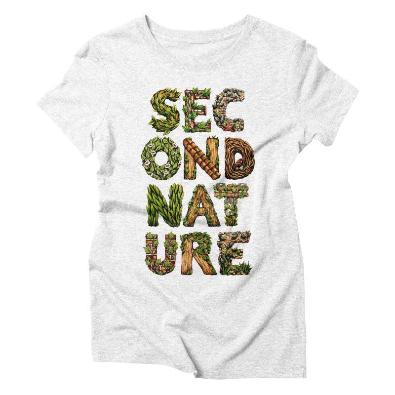 Second Nature Women's Triblend T-shirt by kcarterart's Artist Shop