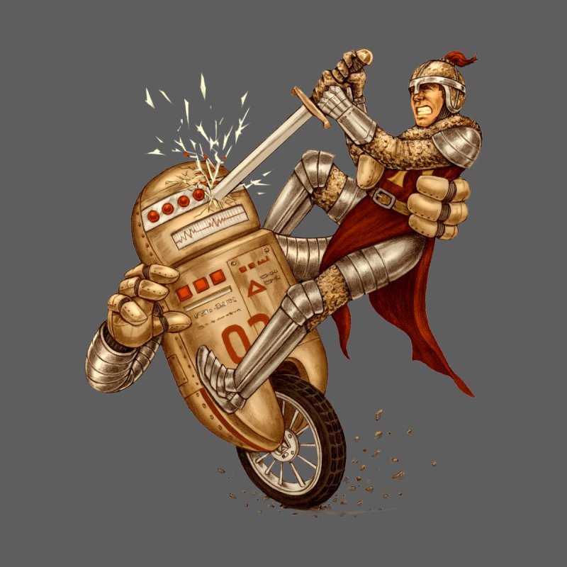 Knight VS Robot by kcarterart's Artist Shop