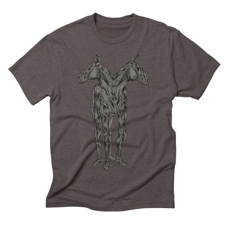 I Have Nightmares Men's Triblend T-shirt by kcarterart's Artist Shop