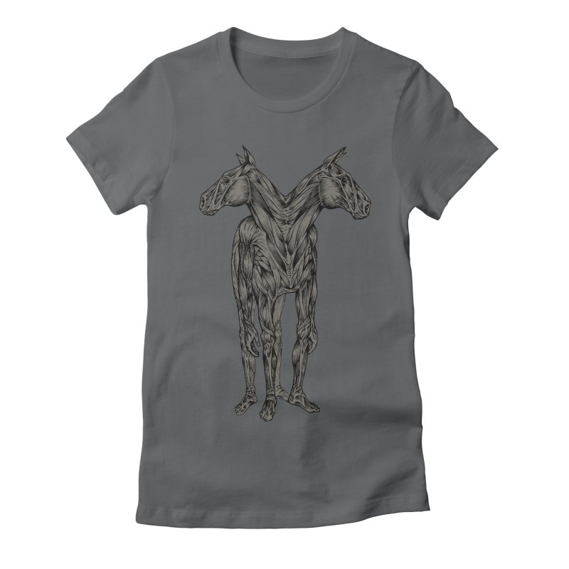 I Have Nightmares Women's Fitted T-Shirt by kcarterart's Artist Shop