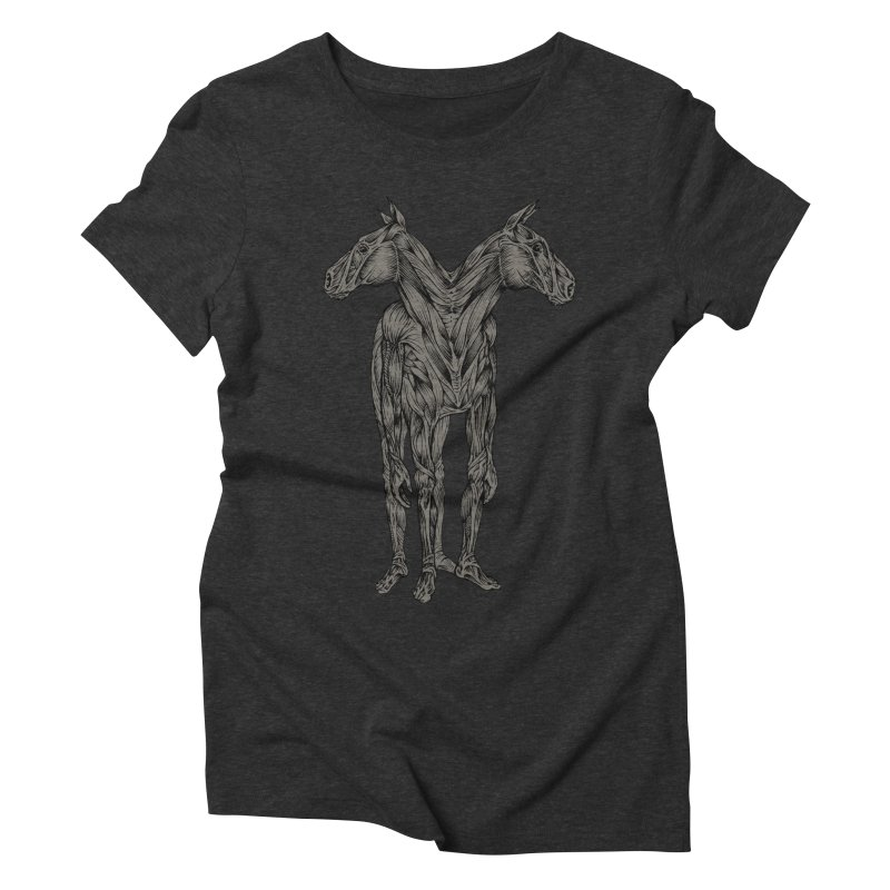 I Have Nightmares Women's Triblend T-shirt by kcarterart's Artist Shop