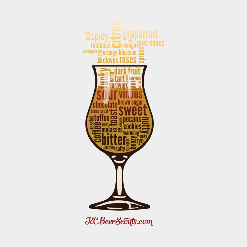 Tasting Glass – Fancy Women's Triblend T-Shirt by KC Beer Scouts Outfitters