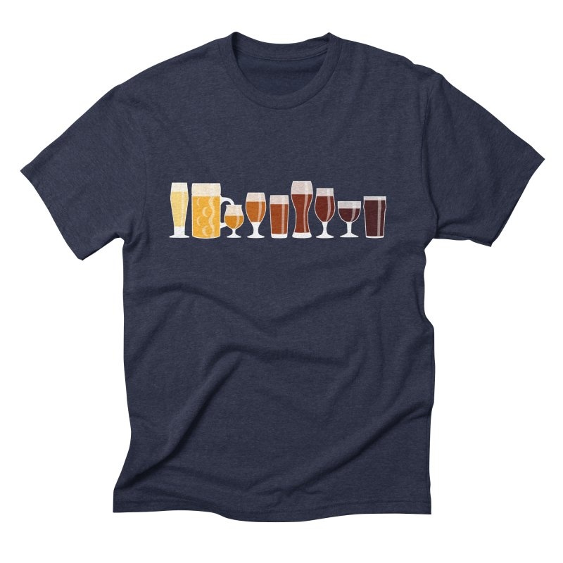 Drink the Rainbow Men's Triblend T-Shirt by KC Beer Scouts Outfitters
