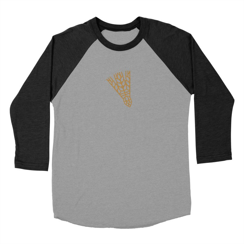 Beerdie KC Men's Baseball Triblend Longsleeve T-Shirt by KC Beer Scouts Outfitters