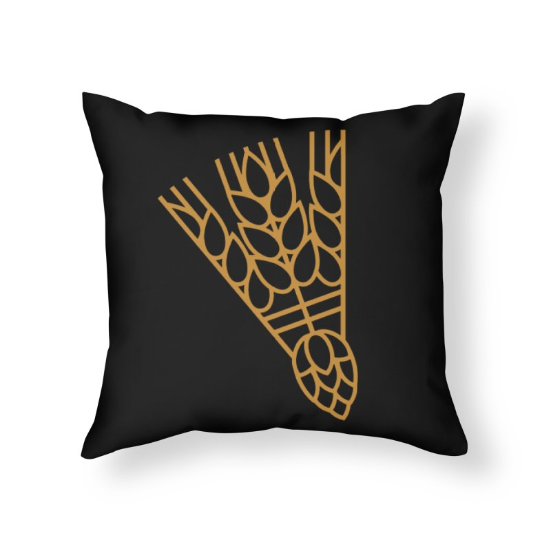 Beerdie KC Home Throw Pillow by KC Beer Scouts Outfitters