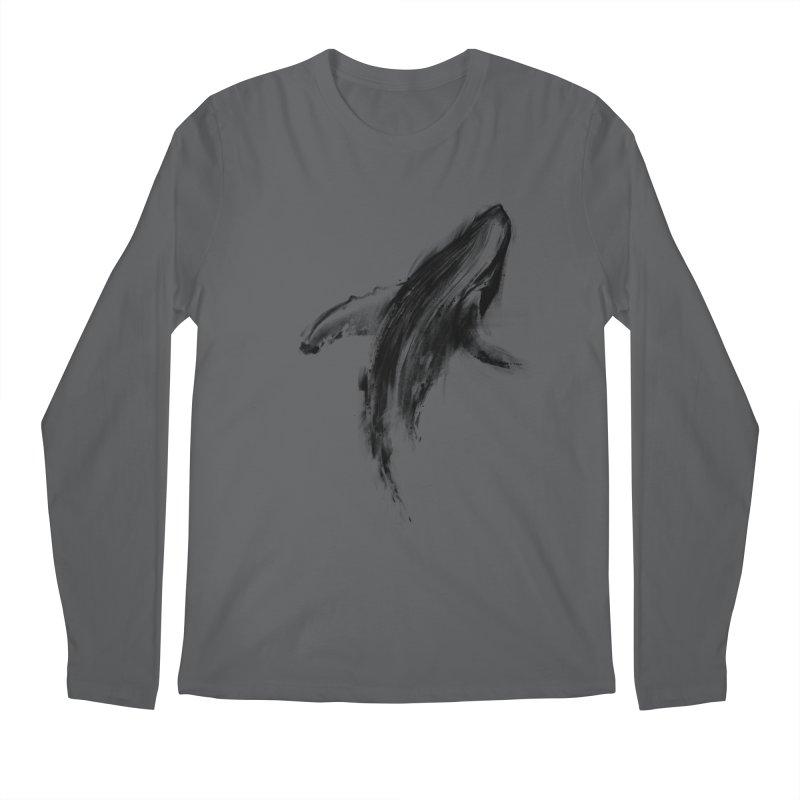 Whale Men's Longsleeve T-Shirt by kdeuce's Artist Shop