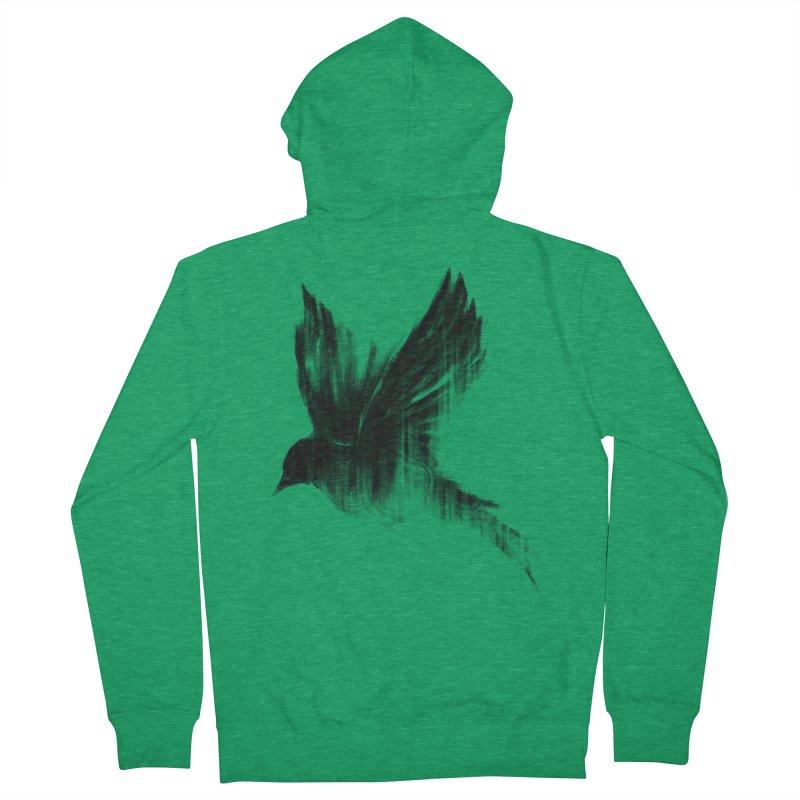 Birdy Men's Zip-Up Hoody by kdeuce's Artist Shop