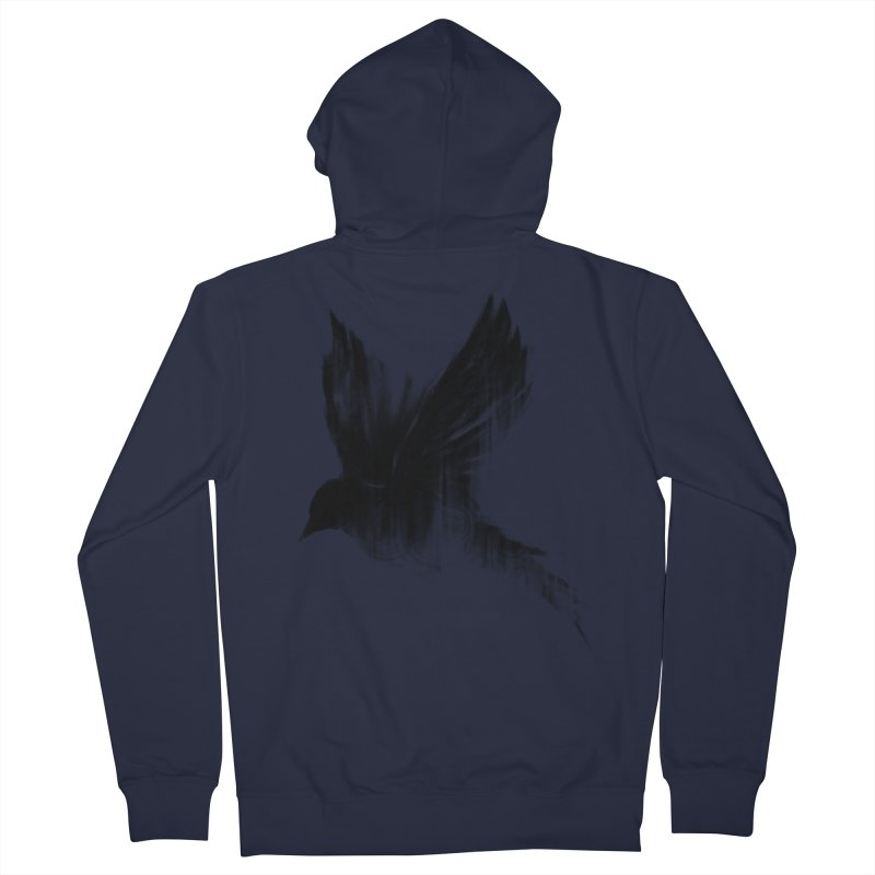 Birdy Men's Zip-Up Hoody by kdeuce's Artist Shop