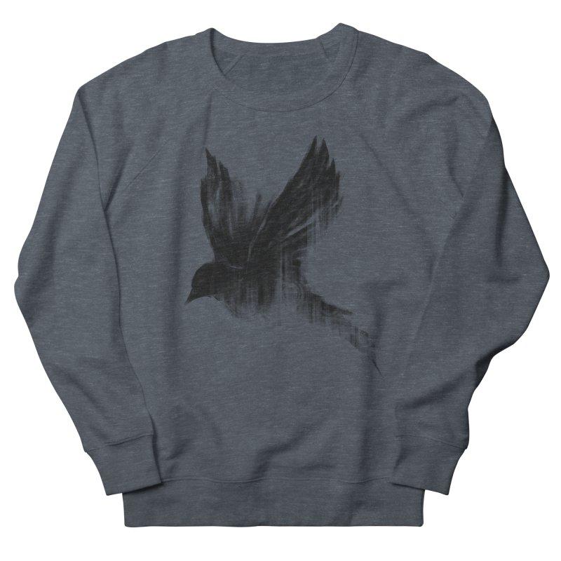 Birdy Men's French Terry Sweatshirt by kdeuce's Artist Shop