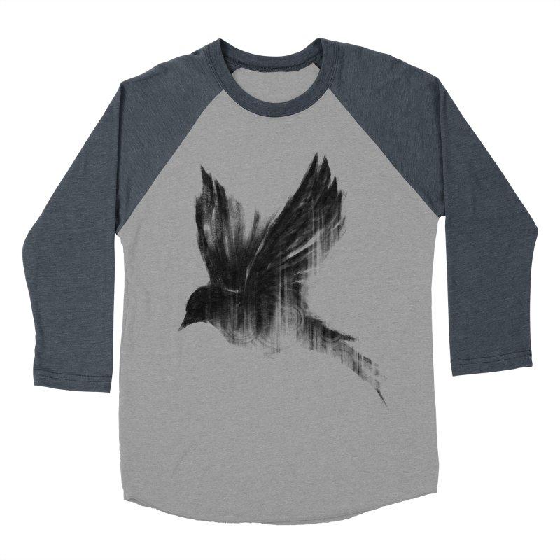 Birdy Men's Baseball Triblend Longsleeve T-Shirt by kdeuce's Artist Shop