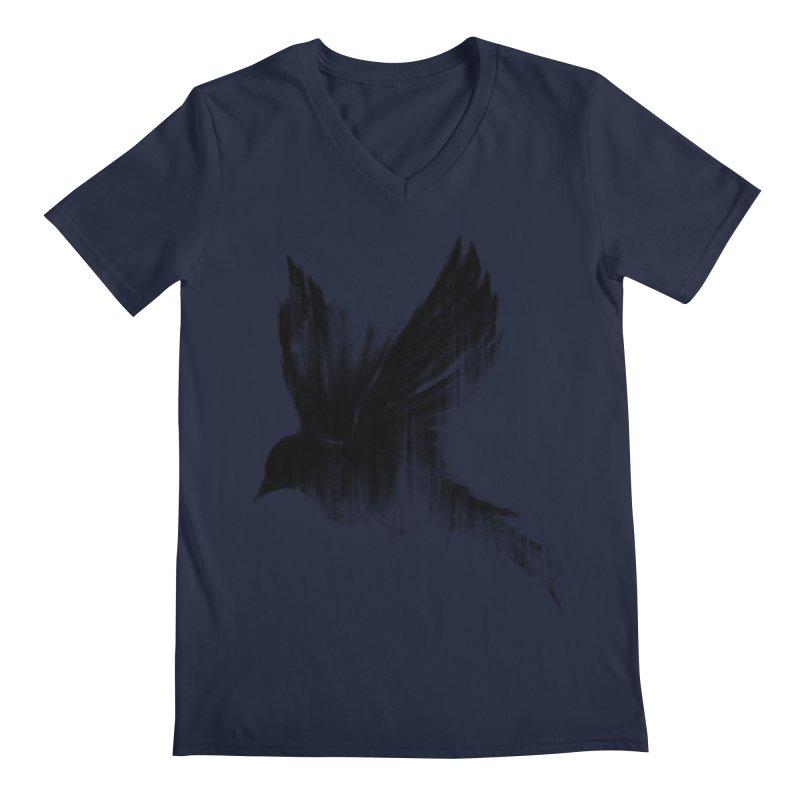 Birdy Men's Regular V-Neck by kdeuce's Artist Shop