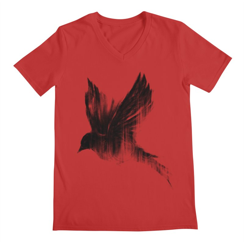 Birdy Men's Regular V-Neck by kdeuce's Artist Shop