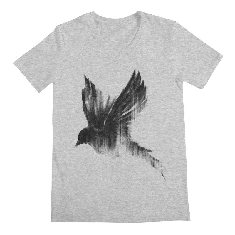 Birdy Men's V-Neck by kdeuce's Artist Shop