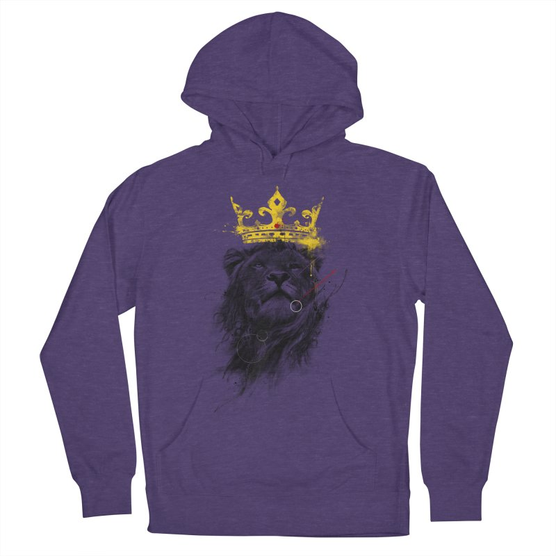 Kitty King Women's French Terry Pullover Hoody by kdeuce's Artist Shop